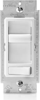 Leviton 6674-P0W SureSlide 通用 150 瓦 LED 和 CFL/600 瓦白炽灯 需配变压器