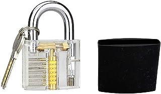 透明锁具,带硅胶盒