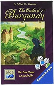 Ravensburger 10 岁及以上的勃艮*城堡 - 决策和领土建设战略骰子游戏