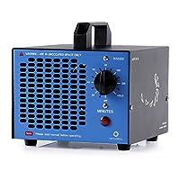 Airtheral 商用臭氧发生器 5000mg 工业臭氧机,MA5000 家用空气离子化器臭氧空气净化器*器适用于房间、*雾、汽车和宠物 5,000mg - Blue MA5000