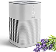 LEVOIT 空气净化器,适用于适用于家庭卧室,加利福尼亚州,双H13 HEPA过滤器可去除99.97%的粉尘花粉宠物毛屑,台式烟雾净化器,带香薰的气味,不含臭氧