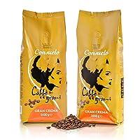 Consuelo Gran Crema 意大利咖啡全豆,2 x 1千克