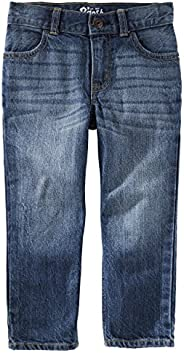 Osh Kosh 男孩直筒牛仔裤