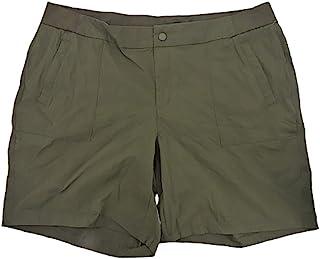 ACTIVE LIFE 女式弹力尼龙舒适腰短裤带口袋
