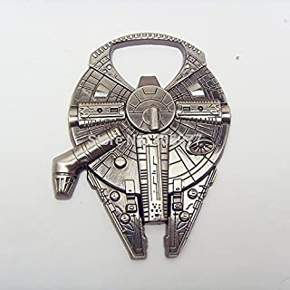 Star Wars Millenium Falcon 金属开瓶器锌合金 - 非磁性开瓶器 5.4 厘米版
