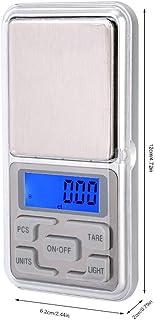 电子食品秤,500g 0.1g 便携式迷你口袋秤背光高精度