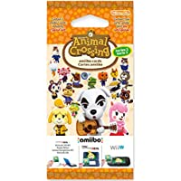 Nintendo 任天堂 动物之森:幸福之家设计师 Amiibo卡片套装 - 系列2 (Nintendo 3DS/Wii…