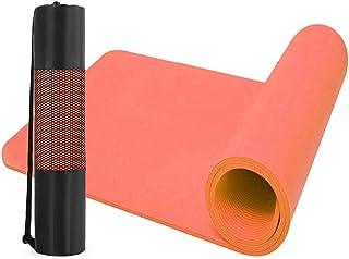 Kertz 12 毫米厚 NBR 运动垫 带便携包 适用于瑜伽、普拉提和体操 - 183 厘米 x 61 厘米 x 1.2 厘米
