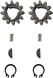 Mowerhub 2 件装 12 齿驱动轮齿轮套件兼容 H-onda 42661-VE2-800 齿轮 42672-VE2-800 钥匙弹簧和夹子