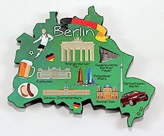 Berlin Germany Decowood 特大木磁铁