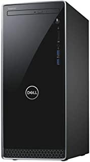 戴尔 Inspiron 3670 台式电脑,Intel 6-Core i5-9400 2.9GHz 高达 4.1GHz、8GB DDR4、1TB HDD、光驱、HDMI、VGA、蓝牙、WiFi、Waves MaxxAudio Pro、5合1多卡...
