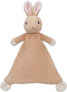 Aurora RARA 兔子被子毛毯,61264,米色,完美的迎婴派对礼物