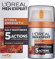 L'Oreal 欧莱雅 Expert Hydra 男士日常抵抗劳累活力保湿乳液,1.6盎司(约45.