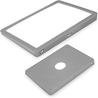 超薄硅胶保护套适用于 Apple Magic Trackpad 2 无线触摸板保护套,防尘防刮耐磨携带硅胶皮包(灰色)