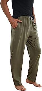 男式棉质瑜伽运动裤 休闲开底休闲裤 宽松长裤 带口袋