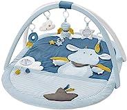 Fehn 065091 3D 活動墊 嬰兒爬行墊 Little Castle/玩具曲架 配5 個可拆卸的玩具 嬰兒玩樂用 出生起適用 85×110cm