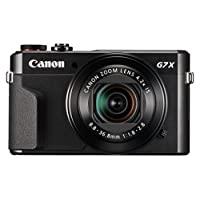 Canon 佳能 Powershot G7 X Mark II数码相机-视频记录相机,全高清60p影片和倾斜触摸屏,非常适合拍摄视频博客的博主和YouTube内容创作者