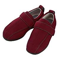 护理鞋 Wyumi 护理全III 外出用 酒红 3L 25.0-25.5cm 足围5E 双脚