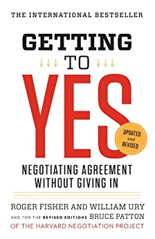 """""""Getting to Yes: Negotiating Agreement Without Giving In (English Edition)"""",作者:[Roger Fisher, William L. Ury, Bruce Patton]"""