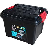 Yuecar 悦卡 汽车收纳箱 车载后备箱储物箱 环保整理箱 车用置物箱 用品 (小号 黑色)