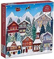 Galison 圣诞村 500 片拼图