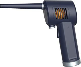 电动鼓风机用于键盘清洁,可替换压缩喷雾气罐,可充电 6000 毫安电池,强大的 33000 转/转,10W 快速充电,电子设备方便*