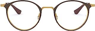 Ray-Ban 雷朋中性成人 Rx6378 金属圆形*眼镜架