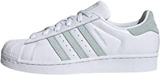 adidas 阿迪达斯 Superstar 女鞋,白色,尺码 6
