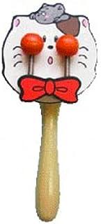 木製アニマルトイドラム ネコ