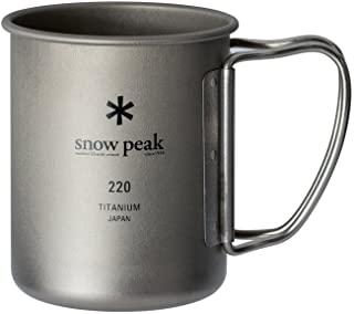 Snow Peak 雪诺必克 钛金属单层马克杯