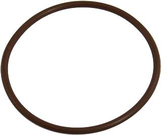 uxcell 59mm x 65mm x 3mm 咖啡色氟橡胶 O 形环密封圈