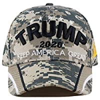 "THE 帽子 Depot 獨家45th 總統"" Make America GREAT again"" 3d 簽名蓋"