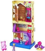 Polly Pocket Pollyville 糖果店 GKL57,适用于4岁以上儿童