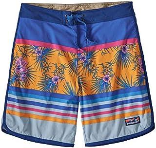 Patagonia 男士 M's Scallop 下摆弹力波浪短裤-18 英寸 短裤