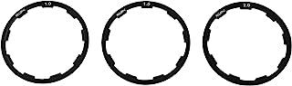 PSCCO 1 套 3 件盒式飞轮垫圈自行车飞轮毂垫片自行车底部支架轴垫圈(1 毫米 + 1.5 毫米 + 2 毫米)