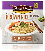 Annie Chun's Sprouted Brown Cooked Rice, Gluten-Free, Vegan, Low Fat, 6.3-oz (Pack o