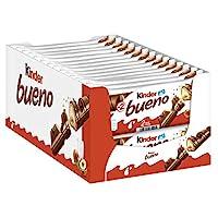 Kinder 健達 Bueno 繽紛樂巧克力牛奶條 30根每盒(30 x 2)