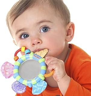 Nuby Look-At-Me 镜子牙胶玩具,多种颜色可选