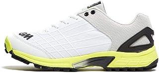 Gunn & Moore 2019 All Rounder 男士成人板球鞋白色/青柠色
