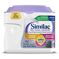 Similac 雅培 Pro-Total Comfort嬰兒奶粉,1段 0-12個月,溫和成分,含有2'-FL HMO,粉狀,22.5盎司/638克(1件)