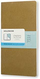 Moleskine Chapters 橄榄色圆点纤细中型笔记本