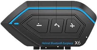 EUSTOLI,头盔蓝牙耳机,蓝牙 5.0,防水摩托车IP67,智能降噪,自动通话接听,蓝牙范围 10 M,80 小时播放时间,语音助手。