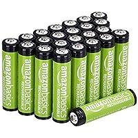AmazonBasics 亚马逊倍思 AAA-可充电碱性电池,800mAh,24块装