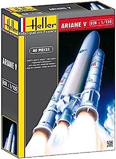 Heller Ariane 5 European Space Agency Heavy Launch Spacecraft Model Building Kit