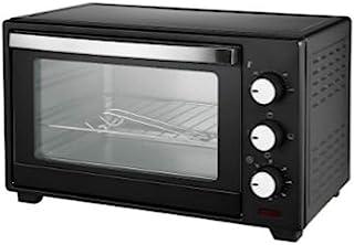 OHMEX OHM-OVN-9220 电动烤箱,烤箱容量20升,1280 W,定时器,60分钟,100°C至230°C,4种烹饪功能,手柄