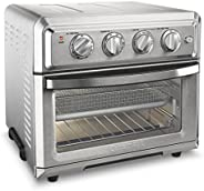 Cuisinart TOA-60 Air Fryer Toaster Oven, Silver(需配变压器)