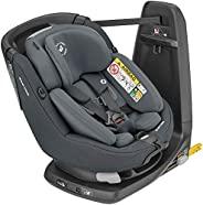 Maxi-Cosi AxissFix Plus 可转向汽车座椅,旋转汽车座椅,适合出生的婴儿,0个月至4岁,45-105厘米,正宗石墨色