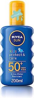 NIVEA 太阳防晒带增强配方适用于儿童 , 光线保护系数50 + , 儿童保护 & 护理