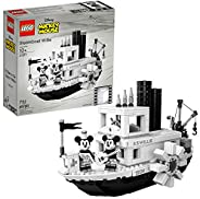 LEGO 乐高 Ideas 21317 迪士尼威利号汽船梦想远征建筑套件(751件)