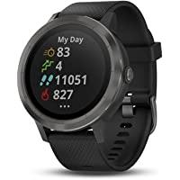 GARMIN 佳明 vívoactive 3 GPS 智能手表 Black with Slate Hardware 1…